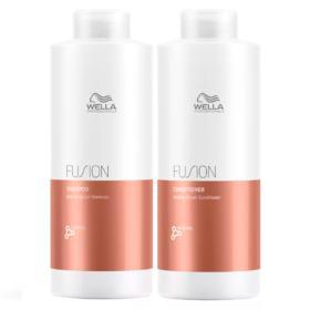 Kit Wella Professionals Fusion - Shampoo + Condicionador - Tamanho Profissional - Kit
