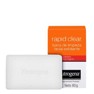 Imagem 1 do produto Sabonete Esfoliante Facial Neutrogena Rapid Clear - 80g