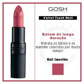 Batom Gosh Copenhagen - Velvet Touch Lipstick Matt - Matt Smoothie