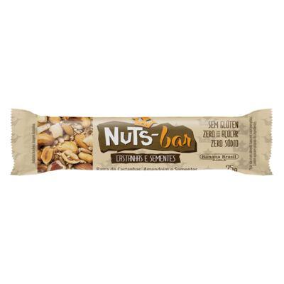 Imagem 1 do produto Barra Nuts Bar Castanhas e Sementes 25g