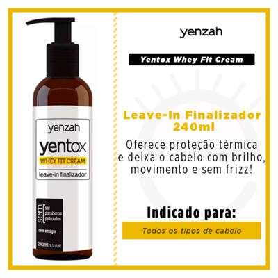 Imagem 2 do produto Yenzah Yentox Whey Fit Cream - Leave-In - 240ml