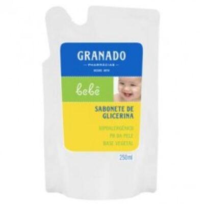 Imagem 1 do produto Sabonete Líquido Granado Bebê Glicerina Refil 250ml