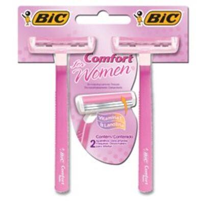 Imagem 1 do produto Aparelho de barbear Bic Confort Twin Women com 2 unidades