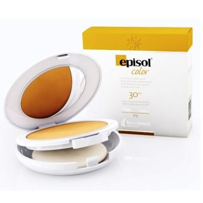 Imagem 1 do produto Protetor Solar Pele Morena Pó FPS 30 Episol Mantecorp Skincare 10g