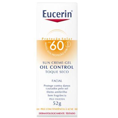 Imagem 3 do produto Protetor Solar Facial Eucerin Oil Control Toque Seco FPS 60 52g