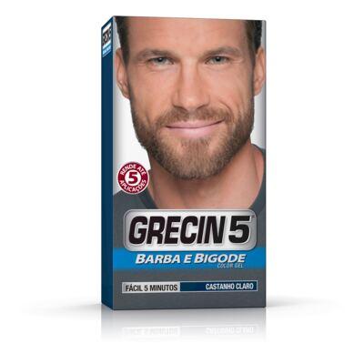 Imagem 1 do produto Tintura Grecin 5 Barba e Bigode Castanho Claro