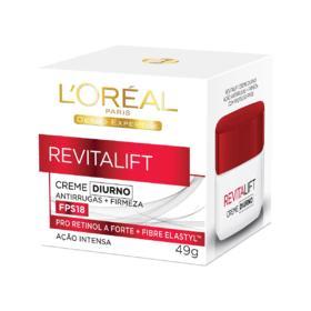 Creme Facial Anti-Idade L'Oréal Paris Revitalift - Diurno FPS 18   49g