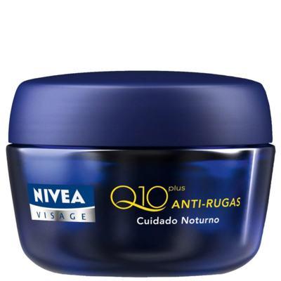 Imagem 1 do produto Creme Antirrugas Nivea Visage Q10 Plus Noite 49g