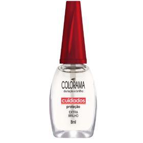 Esmalte Colorama Nude Transparente Cuidados - Extra Brilho | 8ml