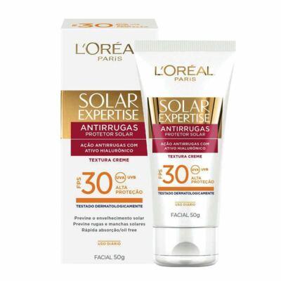 Imagem 1 do produto Protetor Solar L'Oréal Expertise Facial FPS 30 50ml