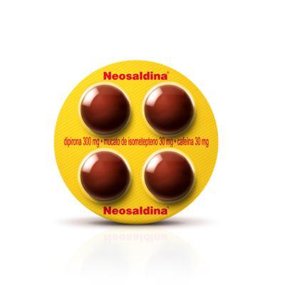 Imagem 1 do produto Neosaldina 4 comprimidos - 4 comprimidos