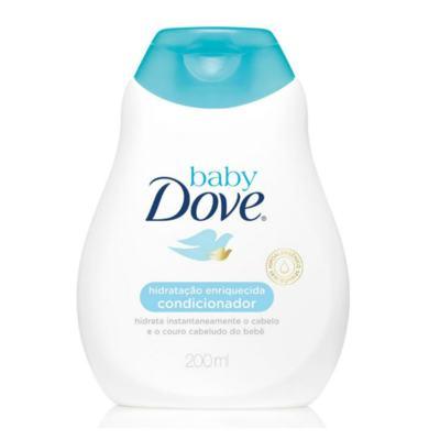 Imagem 2 do produto Kit Dove Baby Hidratação Enriquecida Shampoo 200ml + Condicionador 200ml