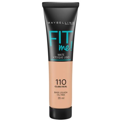 Imagem 1 do produto Base Líquida Maybelline Fit Me! Oil Free 110 Claro Real 35ml