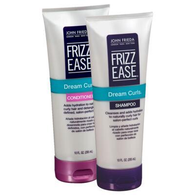 Imagem 1 do produto Kit John Frieda Frizz-Ease Smooth Start Hydrating Shampoo + Condicionador 295ml