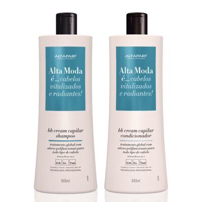 Imagem 1 do produto Shampoo + Condicionador Alta Moda BB Cream 300ml