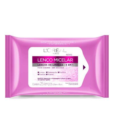 Imagem 3 do produto Kit L'Oréal Creme Antissinais Idade Expert 45+ 40ml + Lenço de Limpeza Micelar 25 Unidades