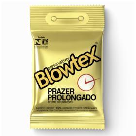 Preservativo Blowtex - Prazer Prolongado | 3 unidades