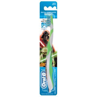 Imagem 2 do produto Kit Oral-B Stages Star Wars Escova Dental Infantil Pró-Saúde + Creme Dental 75ml