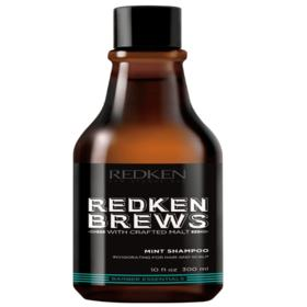 Shampoo Redken Brews Mint Clean - Shampoo Redken Brews Mint Clean  300ml