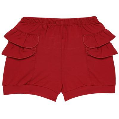 Imagem 6 do produto Blusinha c/ Shorts frufru para bebe em viscolycra Butterflies - Baby Classic - 21001628 BLUSINHA M/C COM SHORTS VISCOLYCRA BUTTERFLY-2