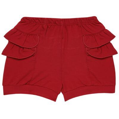 Imagem 6 do produto Blusinha c/ Shorts frufru para bebe em viscolycra Butterflies - Baby Classic - 21001628 BLUSINHA M/C COM SHORTS VISCOLYCRA BUTTERFLY-3