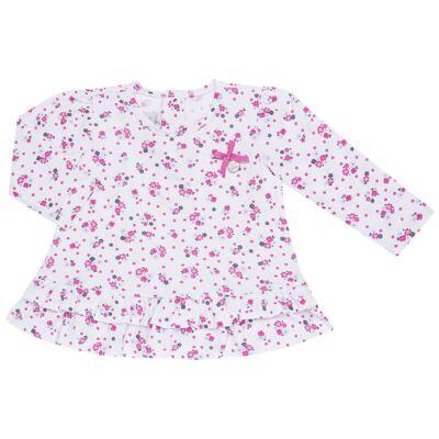 Imagem 2 do produto Bata longa com Legging  para bebe em cotton Tropical - Vicky Lipe - 18520001.53 CONJ.BATA C/LEGGING - COTTON-M
