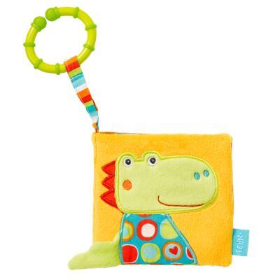 Imagem 1 do produto Baby Fehn - Livro de Pelúcia Dinoussauros - BR329