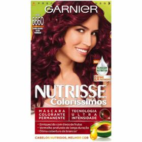 Coloração Nutrisse Coloríssimo Garnier 6660 Rouge - Vermelho