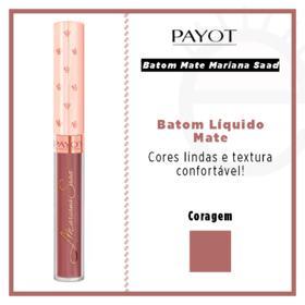 Batom Líquido Mate Payot - Coleção Mariana Saad - Coragem