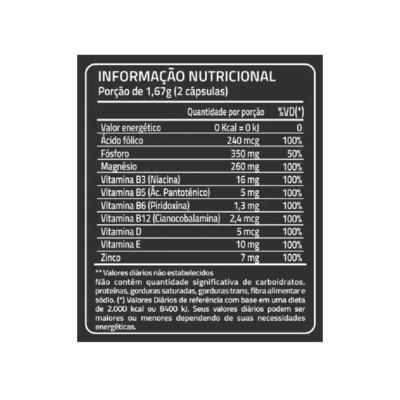 Imagem 2 do produto Nutricaps Testo Maxinutri 60 cápsulas