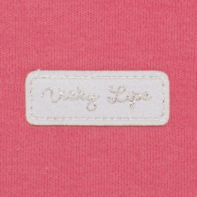 Imagem 3 do produto Body curto para bebe em suedine Candy - Vicky Lipe - BC1379 BODY MC SUEDINE CANDY -P