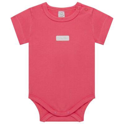 Imagem 1 do produto Body curto para bebe em suedine Candy - Vicky Lipe - BC1379 BODY MC SUEDINE CANDY -M