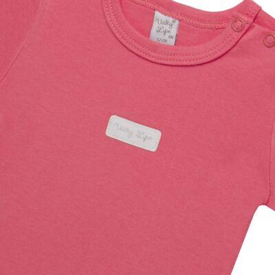Imagem 2 do produto Body curto para bebe em suedine Candy - Vicky Lipe - BC1379 BODY MC SUEDINE CANDY -M