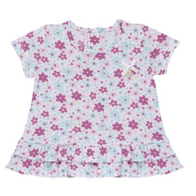 Imagem 2 do produto Bata com Legging para bebe em cotton Little Cute - Vicky Lipe - 8341362 CONJ. BATA COM LEGGING COTTON ELEFANTINHO-GG