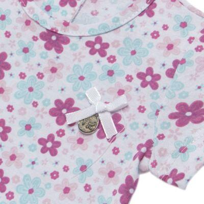 Imagem 3 do produto Bata com Legging para bebe em cotton Little Cute - Vicky Lipe - 8341362 CONJ. BATA COM LEGGING COTTON ELEFANTINHO-GG