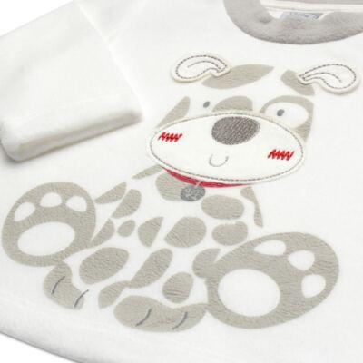Imagem 3 do produto Blusão com Calça em microsoft Little Puppy - Vicky Lipe - BCCP947 BLUSÃO M/L C/ CALÇA MISCROSOFT CACHORRINHO-G