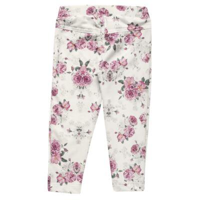 Imagem 5 do produto Blusa com Legging para bebe em cotton Ballerina Camelli - Charpey - CY14729.138 CONJ. BLUSA C/ LEGGING OFF WHITE -GG