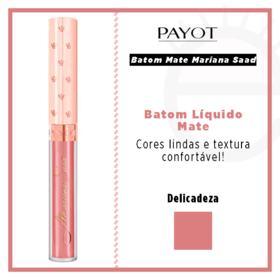Batom Líquido Mate Payot - Coleção Mariana Saad - Delicadeza