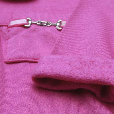 Imagem 3 do produto Body longo com Calça para bebe em viscomfort Pink - Baby Classic - 19051271 BODY C/ GOLA E CALÇA VISCOMFORT GARDEN-GG