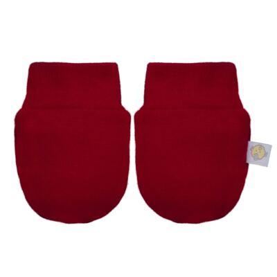 Imagem 4 do produto Kit c/ Touca, Luva e Sapatinho para bebe em malha Vermelho - Beth Bebê - BB0177-C Kit Sapatinho, Touca e Luva Vermelho