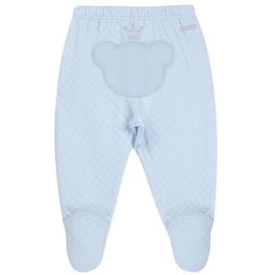 Imagem 6 do produto Body longo com Calça (mijão) em suedine Azul Matelassê - Grow Up - 01020218.0003 CONJ. PG BEAR FRIEND AZUL-RN