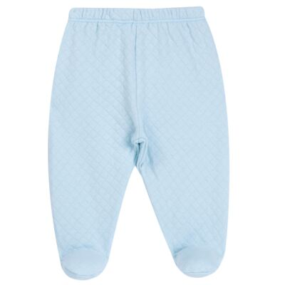Imagem 5 do produto Body longo com Calça (mijão) em suedine Azul Matelassê - Grow Up - 01020218.0003 CONJ. PG BEAR FRIEND AZUL-P