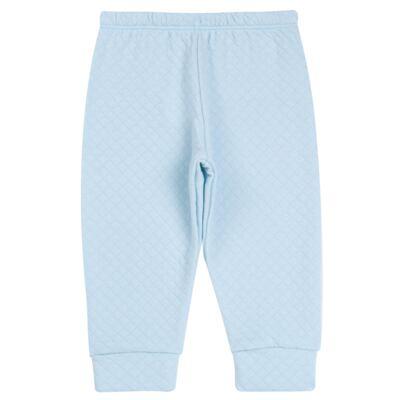 Imagem 5 do produto Body longo com Calça (mijão) em suedine Azul Matelassê - Grow Up - 01020218.0003 CONJ. PG BEAR FRIEND AZUL-M