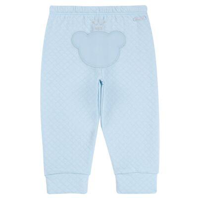 Imagem 6 do produto Body longo com Calça (mijão) em suedine Azul Matelassê - Grow Up - 01020218.0003 CONJ. PG BEAR FRIEND AZUL-M