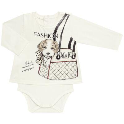 Imagem 2 do produto Body Bata com Legging para bebe cirré Fashion Glam - Mini & Kids - CJVL0001.233 CONJ.BODY C/LEGGING - VISCONFORT-P