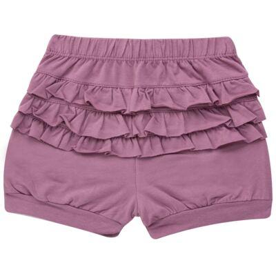 Imagem 4 do produto Blusinha com Shorts babadinhos para bebe em spandex Dolce Amore - Baby Classic - 18690001.20 BLUSINHA M/C COM SHORTS COTTON TRICOT-3