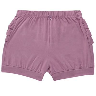Imagem 5 do produto Blusinha com Shorts babadinhos para bebe em spandex Dolce Amore - Baby Classic - 18690001.20 BLUSINHA M/C COM SHORTS COTTON TRICOT-3