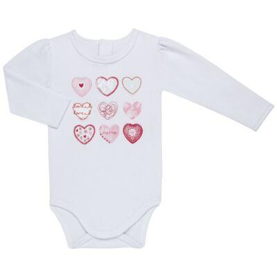Imagem 2 do produto Body longo com Legging para bebe em algodão egípcio c/ jato de cerâmica e filtro solar fps 50 Adore - Mini & Kids - CJF0001.86 CONJ. BODY M/L C/CALÇA FRUFRU-SUEDINE-G