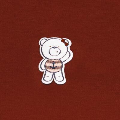 Imagem 3 do produto Body curto com Shorts em suedine Sea Sailor - Vicky Lipe - CSH942 CJ. BODY MC C SHORT SUEDINE URSA NAVY-2