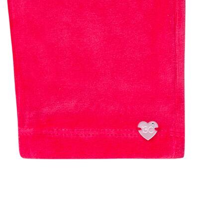 Imagem 5 do produto Bata com Calça para bebe em plush Little Roses - Baby Classic - 976881.218 CONJUNTO BATA COM CALÇA - PLUSH ROSA-2